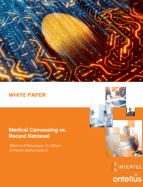 Medicall Canvass vs Records Retrieval Whitepaper Cover